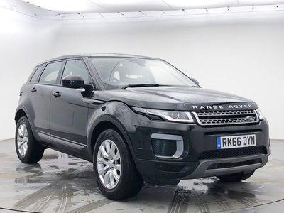 used Land Rover Range Rover evoque 2.0 Td4 Se 5Dr