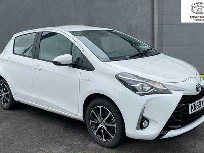 used Toyota Yaris 1.5 VVT-i Icon Tech (98bhp) Hybrid 1497cc E-CVT