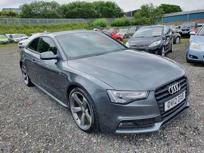used Audi A5 2.0 TDI Black Edition 2dr