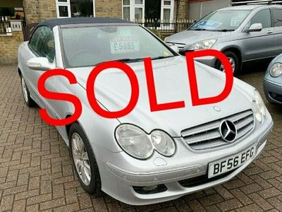 used Mercedes CLK280 3.0 ELEGANCE CONVERTIBLE **68,000 MILES 2 OWNERS FULL HISTORY**, 2006 ( )