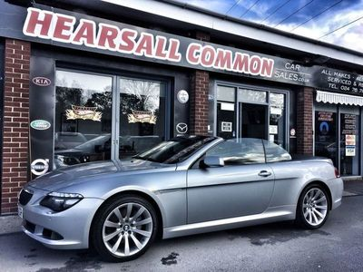 used BMW 635 Cabriolet 2008 BMW 6 SERIES 3.0 635D SPORT 2d AUTO 282 BHP Convertible 2008