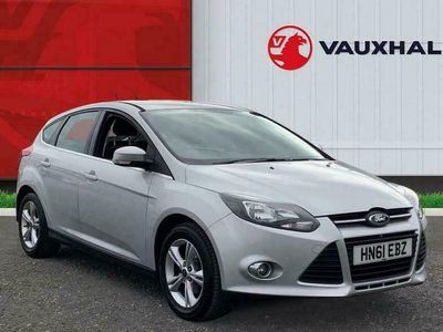 used Ford Focus 1.6 Ti Vct Zetec Hatchback 5dr Petrol Manual (136 G/km, 123 Bhp)