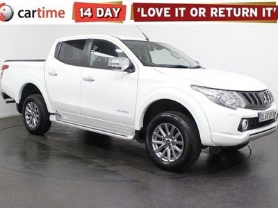 used Mitsubishi L200 2.4 DI-D 4WD WARRIOR DCB 178 BHP Reversing Camera Bluetooth Privacy Glass Heated Seats 17 Inch Alloy