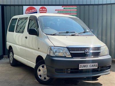 used Toyota HiAce 280 SWB PV D-4D 120
