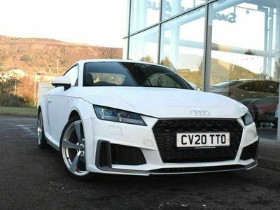 used Audi TT Coupé Coup- S line 40 TFSI 197 PS S tronic