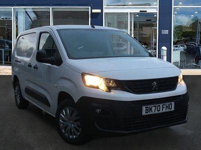 used Peugeot Partner 850 1.5 BlueHDi 100 Professional Crew Van