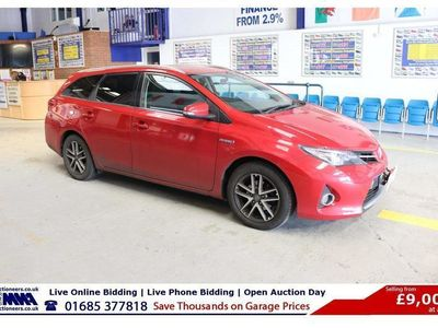 used Toyota Auris ICON + 1.8VVT-I CVT 100BHP AUTO HYBRID 5 DOOR ESTATE (GUIDE PRICE)