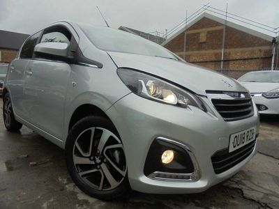 used Peugeot 108 1.0 Allure 2 Tronic 5dr
