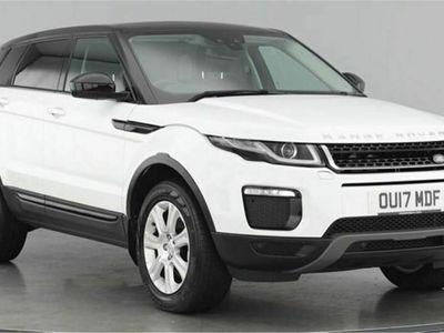used Land Rover Range Rover evoque TD4 SE TECH 2.0 5dr