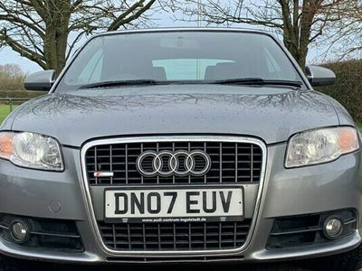 used Audi A4 Cabriolet 2.0 TDi S Line 2d