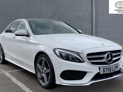 used Mercedes C220 C-Class 2.1CDI BlueTEC AMG Line Saloon 4dr Diesel G-Tronic+ (s/s) (170 ps)