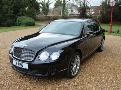 used Bentley Continental 6.0 FLYING SPUR SPEED 4d 601 BHP, 2008 ( )