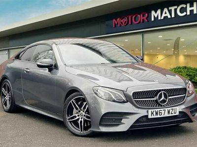 used Mercedes E220 E Class 2.0AMG Line G-Tronic+ (s/s) 2dr Coupe 2018