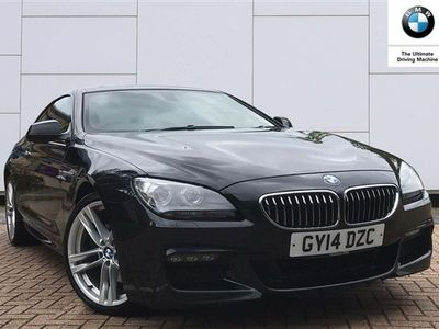 used BMW 640 6 Series d M Sport 2dr Auto Coupe 2014