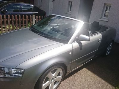 used Audi A4 Cabriolet Cabriolet 2.0 TDI S line Multitronic 2dr
