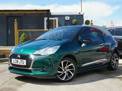 used DS Automobiles DS3 1.2 PURETECH CONNECTED CHIC 3d 80 BHP 3-Door