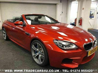 used BMW M6 Cabriolet 4.4 M6 2d 553 BHP