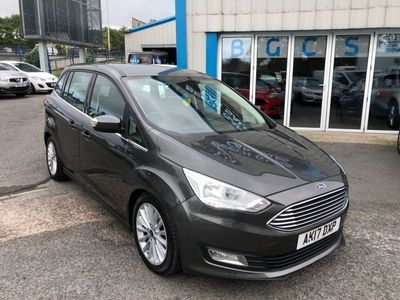 used Ford Grand C-Max 1.5 TITANIUM TDCI 5d 118 BHP LOW RATE FINANCE AVAILABLE