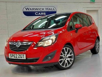 used Vauxhall Meriva 1.4 i 16v Active Limited Edition 5dr (a/c)