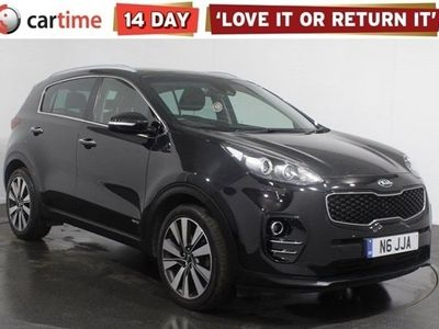 used Kia Sportage 2.0 CRDI KX-4 5d 182 BHP Your dream car can become a reality with cartime's fantastic finance deals.