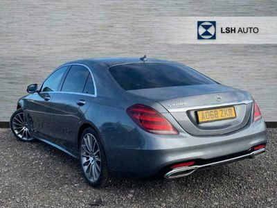used Mercedes S400 S ClassL AMG Line Premium Plus 4dr 9G-Tronic Saloon diesel saloon