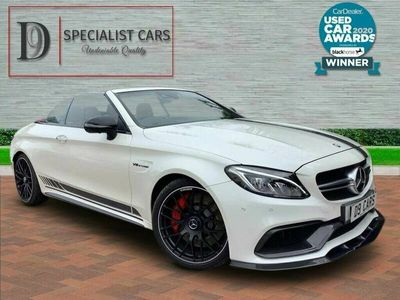 used Mercedes C63 AMG C-Class 4.0AMG S Edition 1 (510ps) Cabriolet 2d 7G-Tronic Plus