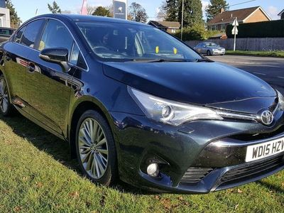 used Toyota Avensis 2.0 D-4D Excel (s/s) 4dr