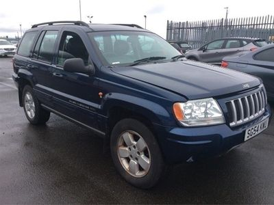 used Jeep Grand Cherokee Station Wagon 2.7 CRD Limited 5d Auto