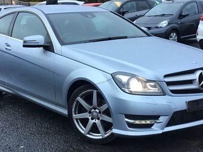 used Mercedes C220 C-ClassCdi Blueefficiency Amg Sport 2Dr Auto