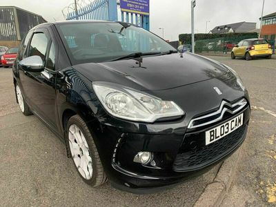 used Citroën DS3 1.6 HDi Black 3dr