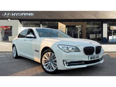 used BMW 730 7 Series d SE Exclusive 4dr Auto Diesel Saloon