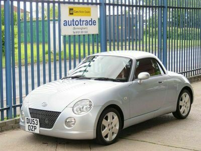 used Daihatsu Copen 0.7 ROADSTER 2d 67 BHP Full Red Leather Heated Seats
