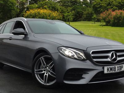 used Mercedes E220 E-ClassAmg Line 5Dr 9G-Tronic