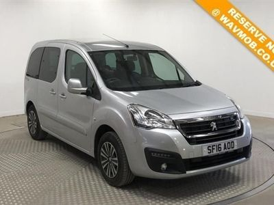 used Peugeot Partner Tepee Euro 6 Automatic Wheelchair Accessible Disabled Access 4 Seat Ramp Car 1.6 5dr