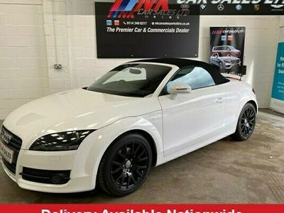 used Audi TT Roadster 1.8L TFSI 2d 160 BHP 1 FORMER KEEPER FROM NEW LOW MILES WITH FULL AUDI HI 2-Door