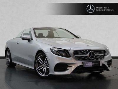 used Mercedes E350 E Class 2.0AMG Line (Premium) Cabriolet G-Tronic+ (s/s) 2dr