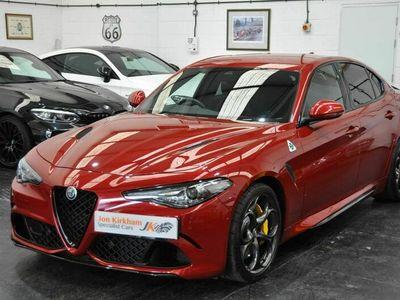 used Alfa Romeo Giulia 2.9 V6 Bi-Turbo Quadrifoglio Auto (s/s) 4dr