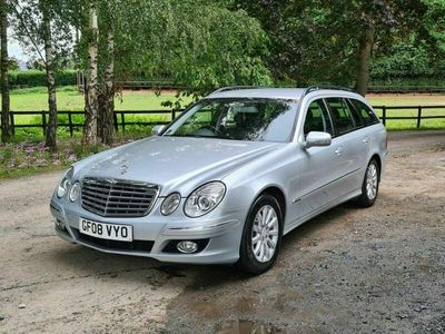 used Mercedes E220 E CLASS 2.1CDI ELEGANCE 5d 168 BHP +GREAT HISTORY+