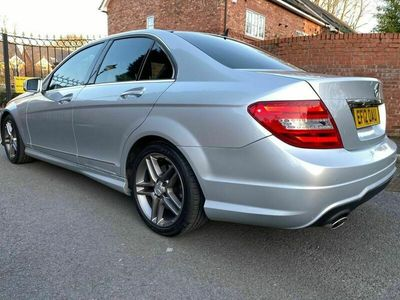 used Mercedes C350 C Class 3.0CDI BlueEFFICIENCY AMG Sport 7G-Tronic Plus 4dr (Map Pilot)