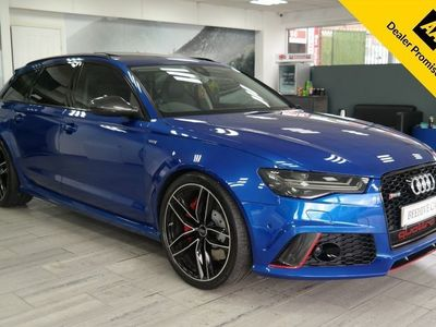 used Audi RS6 TFSI V8 QUATTRO AUTO CARBON PACK F+R HEATED SEATS 4.0