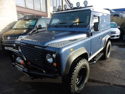 used Land Rover Defender 90 2.4 TDi Hard Top 3dr