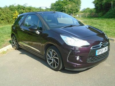 used DS Automobiles DS3 Cabriolet CABRIO 1.6 BlueHDi DStyle Nav (s/s) 2dr