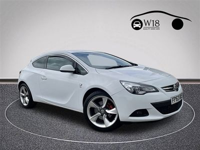 used Vauxhall Astra GTC 1.4T SRi Coupe 3dr Petrol (s/s) (140 ps)