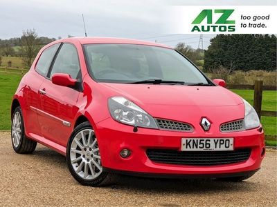 used Renault Clio 2.0 VVT sport Hatchback 3dr Petrol Manual (199 g/km, 197 bhp)