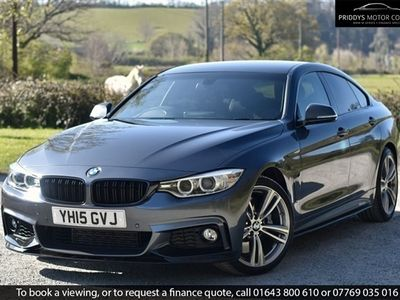 used BMW 435 Gran Coupé 4 SERIES GRAN COUPE I M SPORT - PERFORMANCE SPEC 3.0 5dr