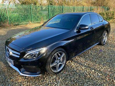 used Mercedes C220 C Class 2.1CDI BlueTEC AMG Line G-Tronic+ (s/s) 4dr