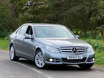 used Mercedes C180 C Class 1.8BlueEFFICIENCY Elegance Edition 125 7G-Tronic 4dr