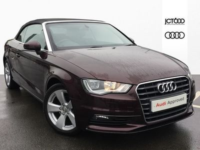 used Audi A3 Cabriolet Sport 1.4 TFSI cylinder on demand 150 PS 6 speed Manual