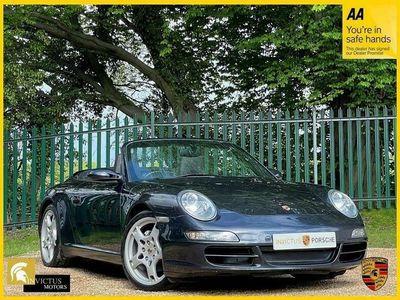 used Porsche 911 Carrera Cabriolet 3.6 CARRERA 2 2d 325 BHP