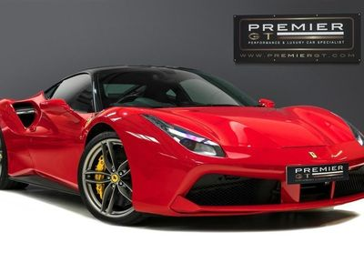 used Ferrari 488 GTB 3.9 V8 F1 COUPE WARRANTY TO JUNE 2021 7 YR SERVICE PACK PPF 2016